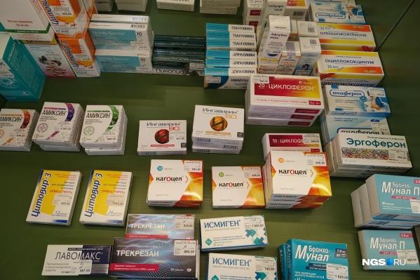 При лечении коронавирусной инфекции, как правило, требуется большой набор лекарств