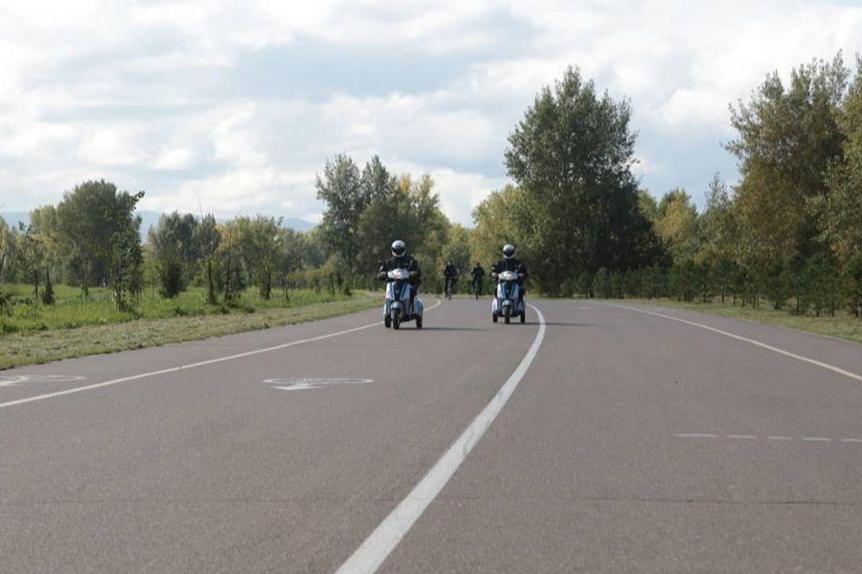 Первый день патрулирования проходит в Татышев-парке