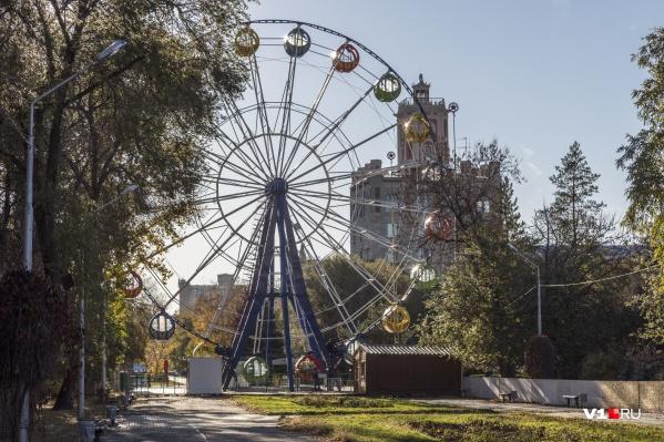 Аттракционы и колесо обозрения будут покидать парк по мере продажи