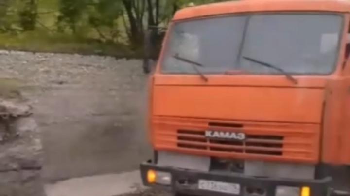 В Перми бетономешалка насмерть задавила велосипедиста