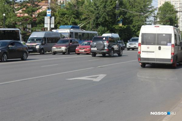 Предполагается, что новые полосы на магистралях помогут улучшить работу транспорта