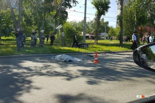 Инцидент произошел на улицеСыромолотова