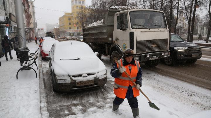 Снегоуборочная техника в Уфе к зиме готова. Так сказали чиновники