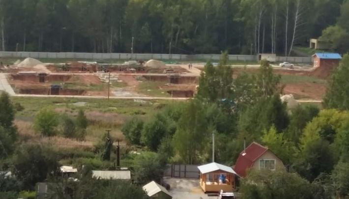 Суд признал, что разрешение на строительство телебашни на Уралмаше выдали незаконно