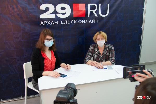 В прямом эфире 29.RU мы говорили с представителем Минздрава региона 9 декабря