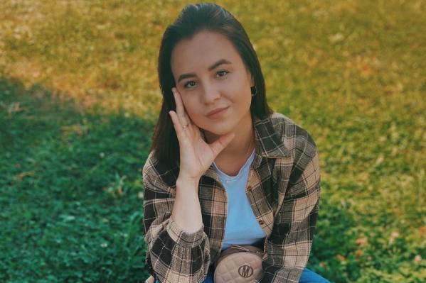 Девушка учится в Ярославле и подрабатывает в магазине одежды