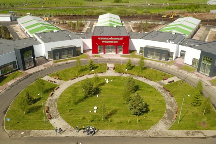Так выглядит новый инфекционный центр под Уфой, который, кстати, проектировали при участии южноуральских архитекторов