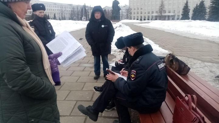 В Архангельске на пятерых экоактивистов составили протоколы за нарушение противоэпидемических мер