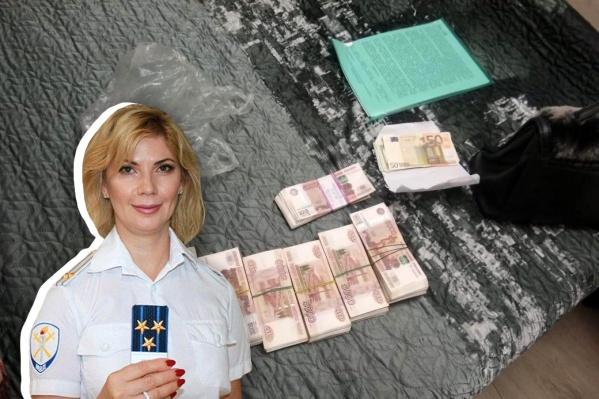 В вечер задержания у Веры Рабинович обнаружили меченые купюры