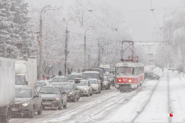 В Самаре трамваи на втором месте по популярности у пассажиров общественного транспорта
