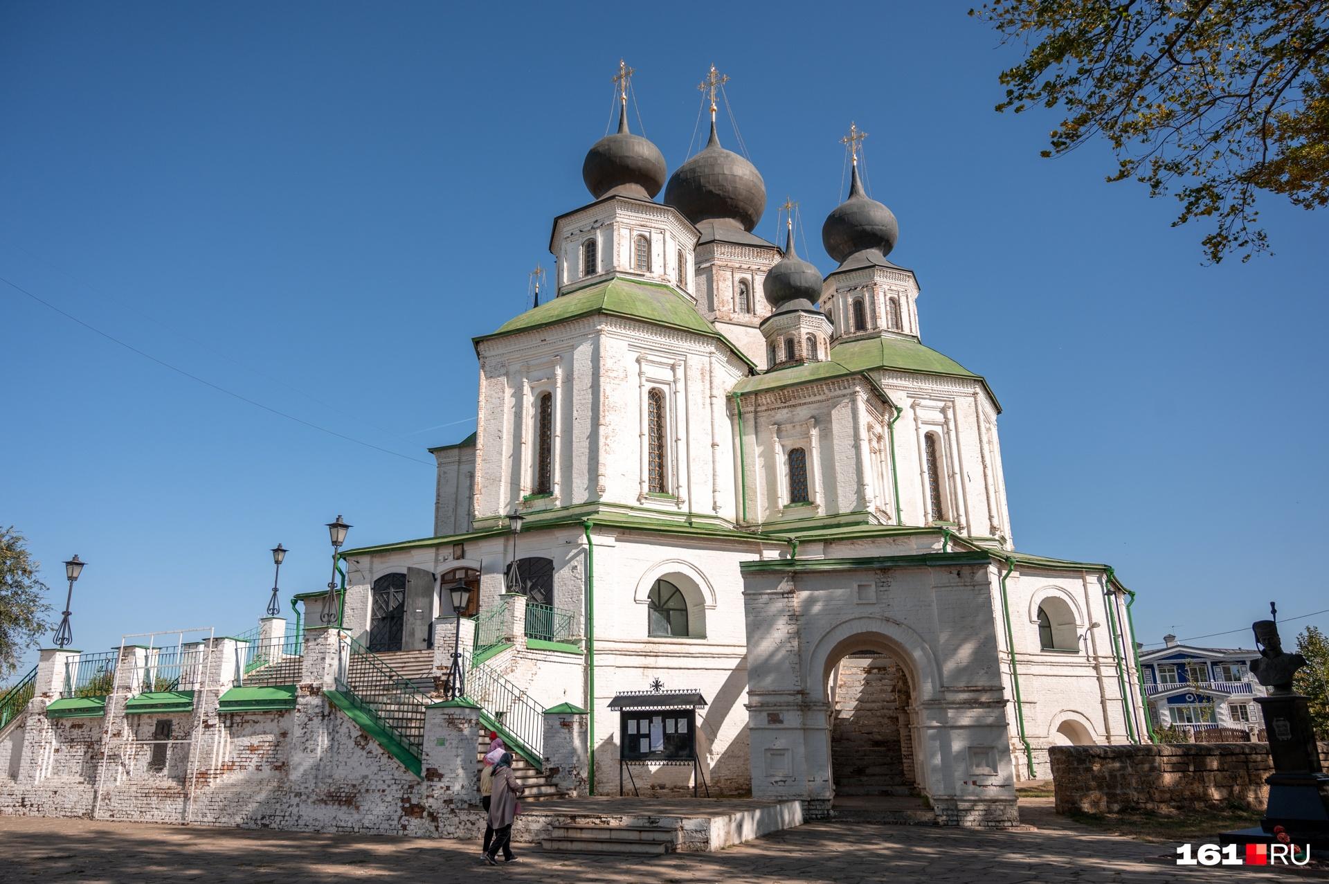 Воскресенский войсковой собор построили в начале XVIII века