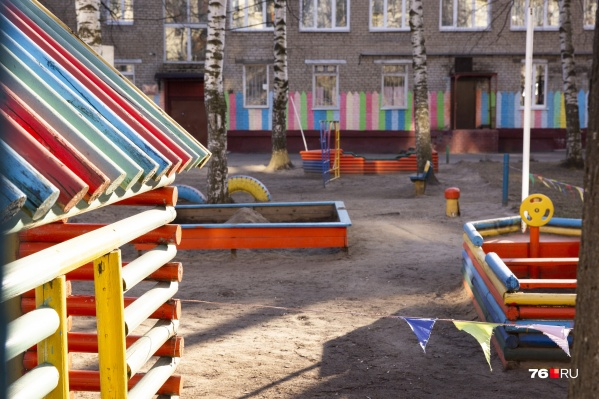 Детский сад № 34 в Рыбинске работает уже почти в привычном режиме