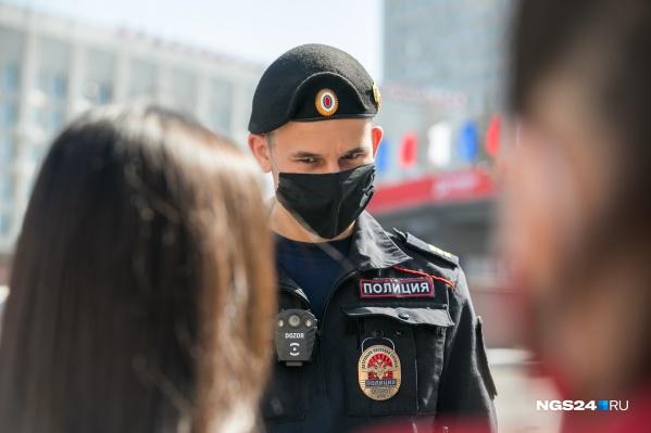 При обращении к патрульным на девушек составили материалы о нарушении режима самоизоляции