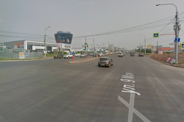 Авария произошла на перекрестке 9 Мая и 78 Добровольческой бригады