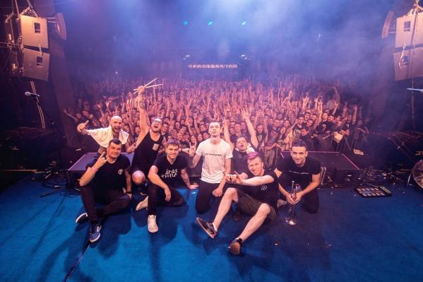В Новосибирске запланировано два концерта группы в марте