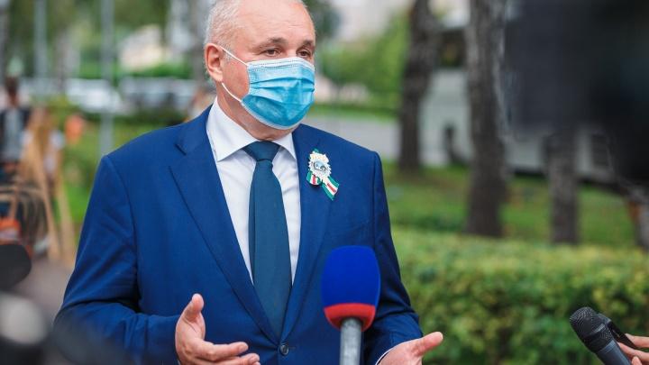 Губернатор Цивилев и его жена заболели коронавирусом. Он записал видео из дома