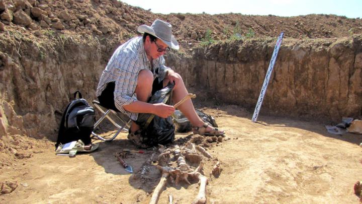 Волгоградские археологи нашли ценности сарматов