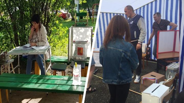 «Будто в овощной палатке»: как в Ярославле выглядят избирательные участки для голосования по Конституции