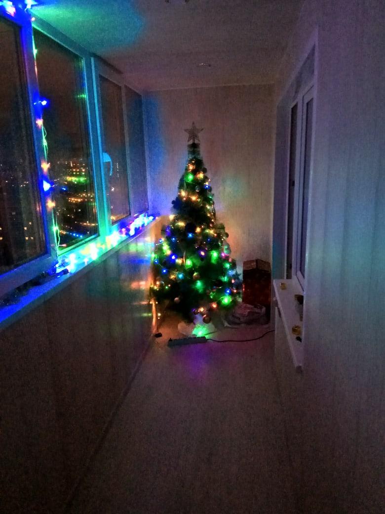 Тот случай, когда новогоднюю елку можно не убирать круглый год
