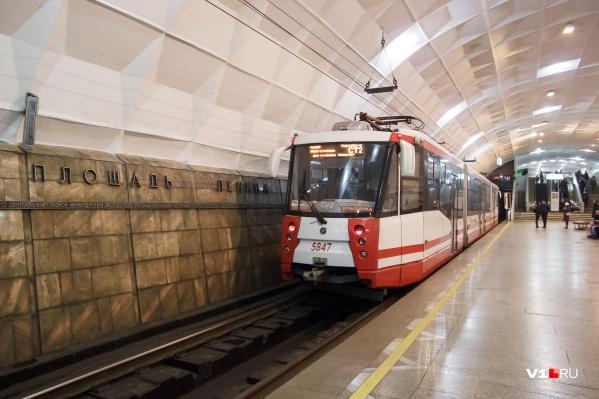 Скоростные трамваи будут ходить от «Ельшанки» до «ВГТЗ»