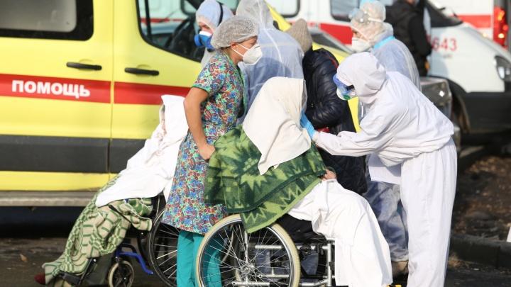 Пациентку ковидной базы, пострадавшей от взрыва в Челябинске, после эвакуации перевели на ИВЛ