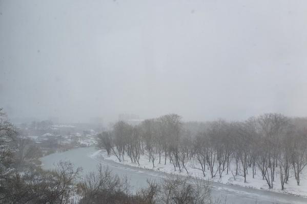 В районах Зауралья погода 8 апреля будет хуже, чем в Кургане