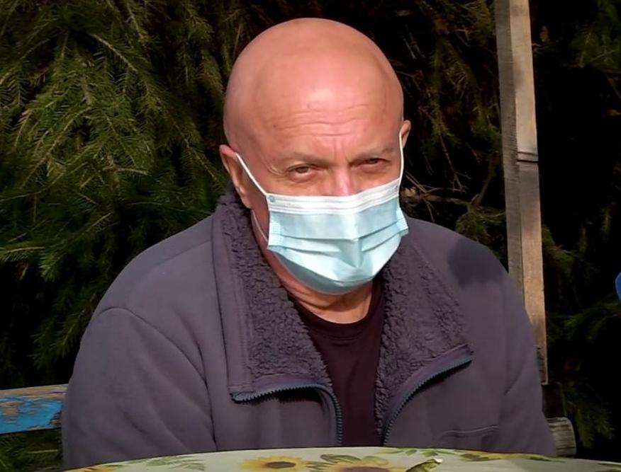 Юрий Ларионов в стационаре провел 22 дня