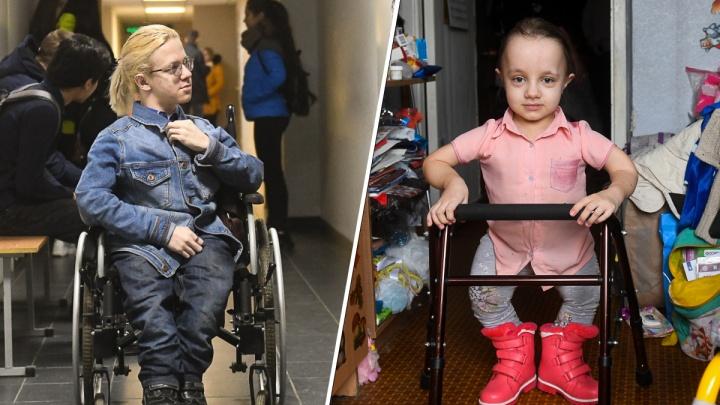 Тридцать переломов на двоих: как живет екатеринбургская семья, в которой двое «хрупких» детей