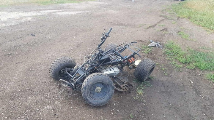 «Ребёнок в тяжелом состоянии»: в Самарской области водитель квадроцикла протаранил иномарку