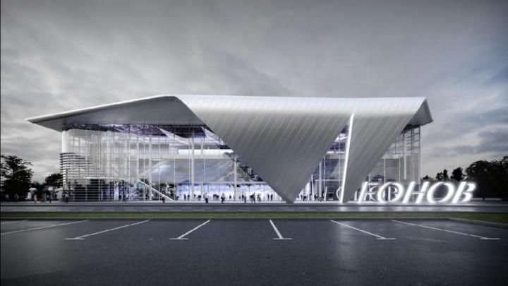В аэропорту Кемерова начали строить новый терминал. Это будет 3-этажный стеклянный куб (вот эскизы)