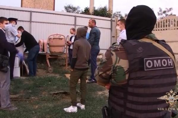 Банду задержали в Городищенском районе