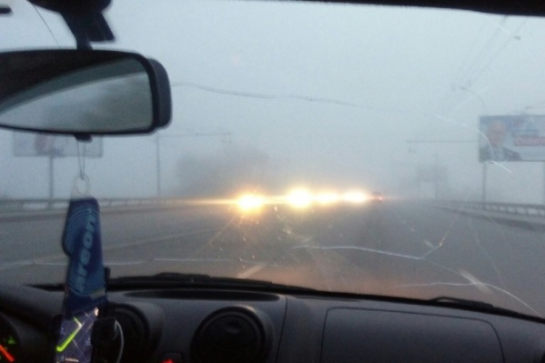 Обычно густые туманы на город спускаются в августе, в этом году их ждут раньше