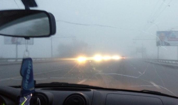 В МЧС предупредили новосибирских водителей о густых туманах