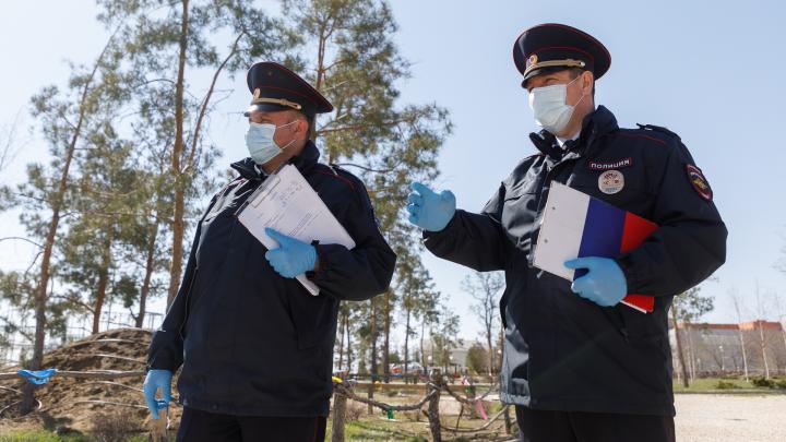 Жителя Октябрьского района арестовали из-за неоплаченного штрафа за нарушение самоизоляции