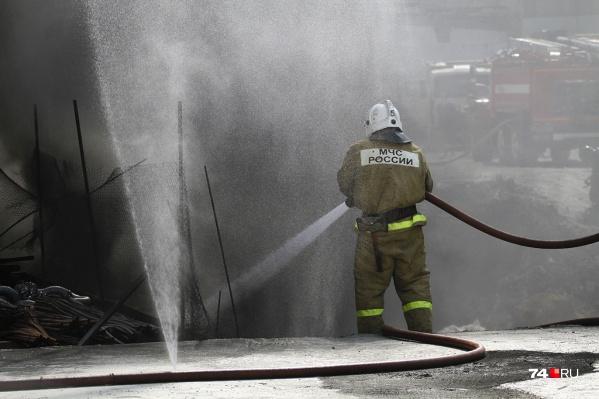 Пожарные смогли ликвидировать возгорание только через 39 минут