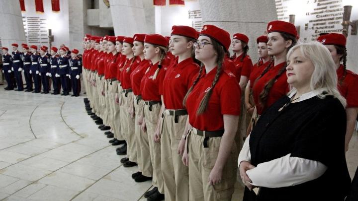 Клянусь быть патриотом: 90 волгоградских школьников пополнили ряды Юнармии
