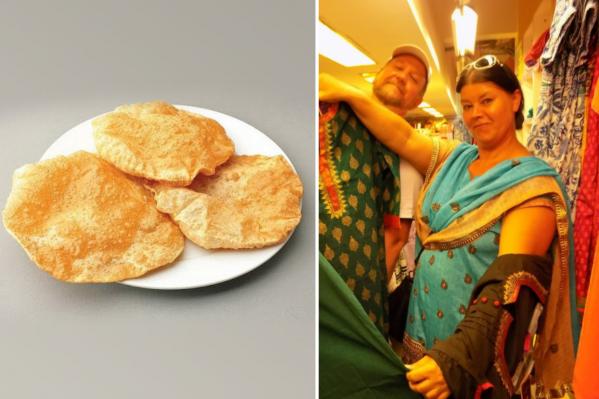 Елена не только сама изучает индийскую культуру, но и, например, учила индийцев печь русские блины<br>