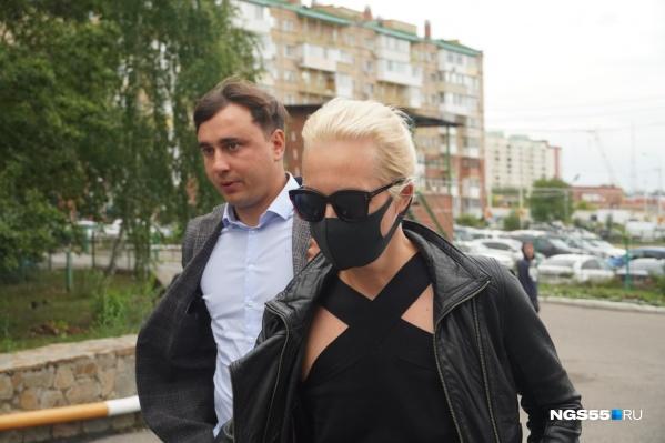 Юлия Навальная отказалась от комментариев