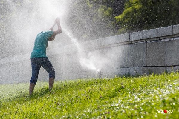 Спасаться от летнего зноя можно по-разному