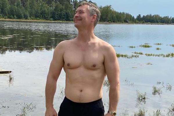 Евгений Ройзман пока весит 102 килограмма