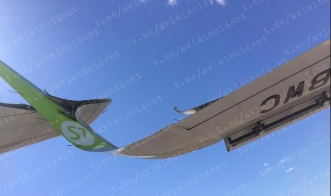 СК начал проверку после столкновения борта S7 с другим самолётом