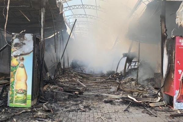 Рынок загорелся днем 16 сентября
