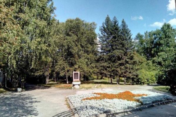 Сквер в Первомайском районе планируют благоустроить к середине октября