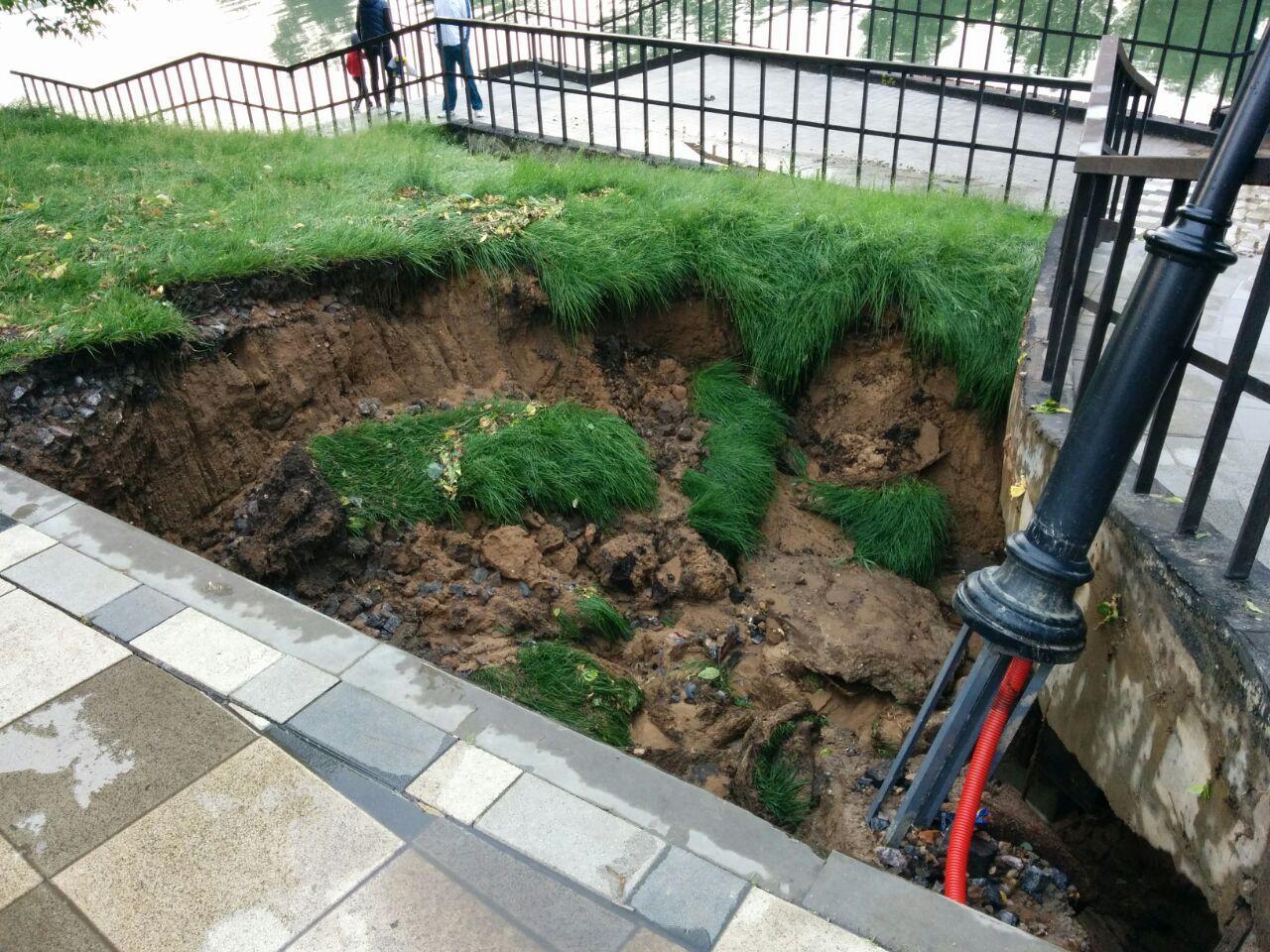 Черкизовский парк через год после благоустройства