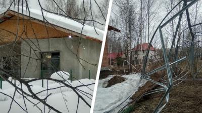 Новосибирский суд обязал бизнесмена сдвинуть дом, который мешал соседям