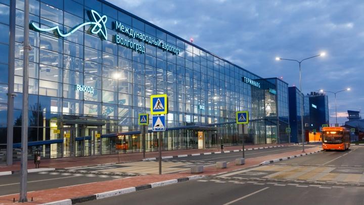 В аэропорту Волгограда самолет совершил вынужденную посадку