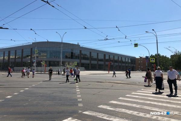 Строительство на этом месте началось еще весной 2015 года