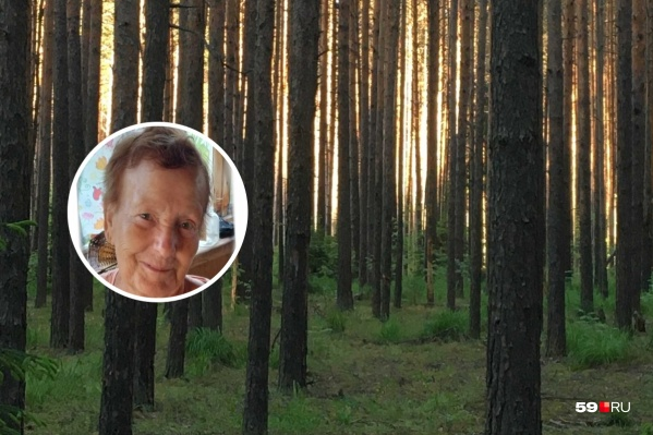 Нина Никифоровна ушла в лес за грибами