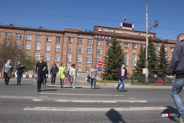 Зараженные COVID-19 жители Северодвинска составляют почти половину всех заразившихся Архангельской области