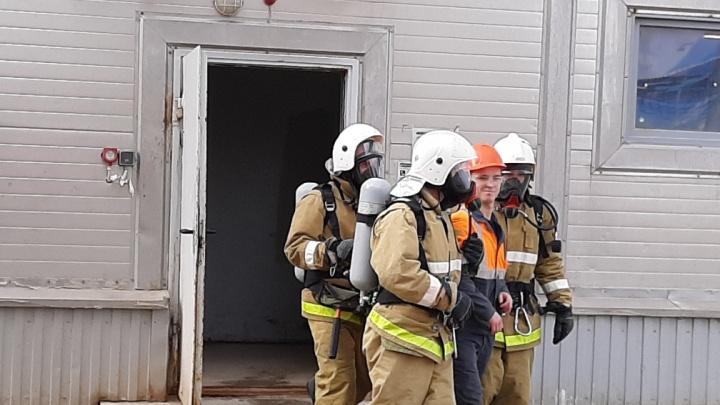 На Гремячинском ГОКе спасли пострадавших и потушили масштабный пожар на производстве